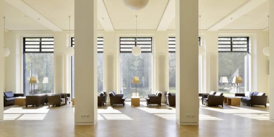 Harnack House's Planck Lobby